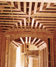 Gordon Fiano Residential Framing project - Aptaker Residence